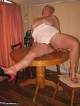 GirdleGoddess. Dining Room Table Free Pic