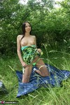 TraceyLain. Picnic In Sexy Summer Dress Free Pic 3