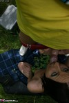 TraceyLain. Picnic In Sexy Summer Dress Free Pic 9