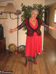 Girdle Goddess. Red Hot Mama Free Pic 5