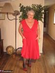 Girdle Goddess. Red Hot Mama Free Pic 9