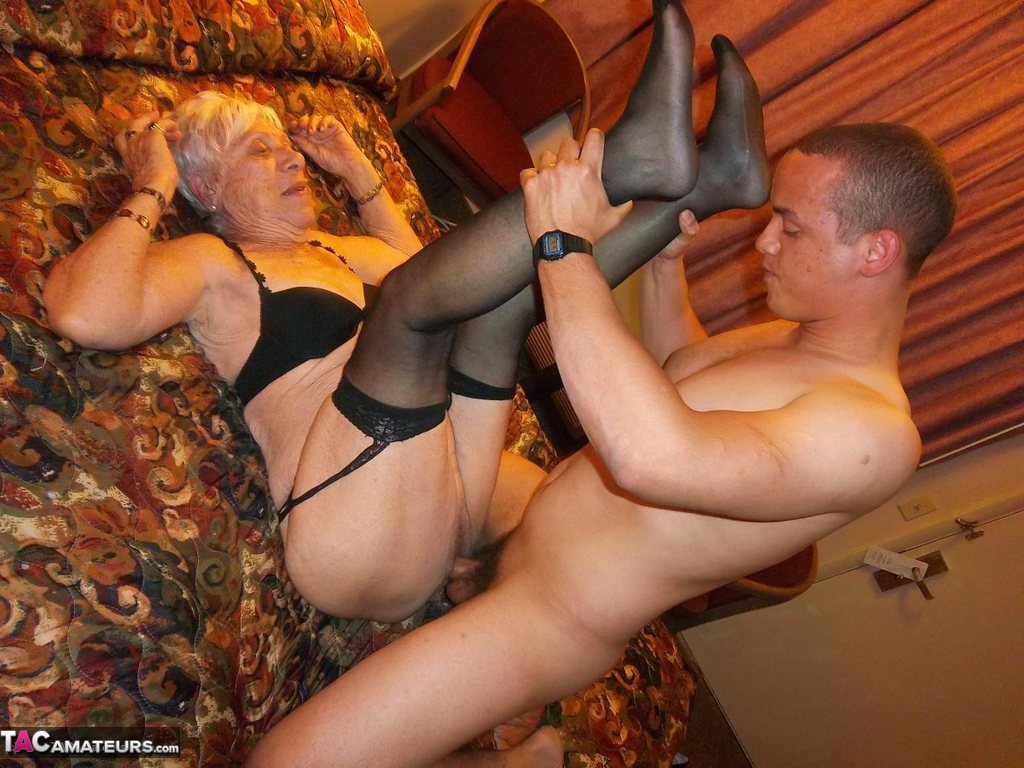 90 yr old granny fucked in a hotel - 2 part 9
