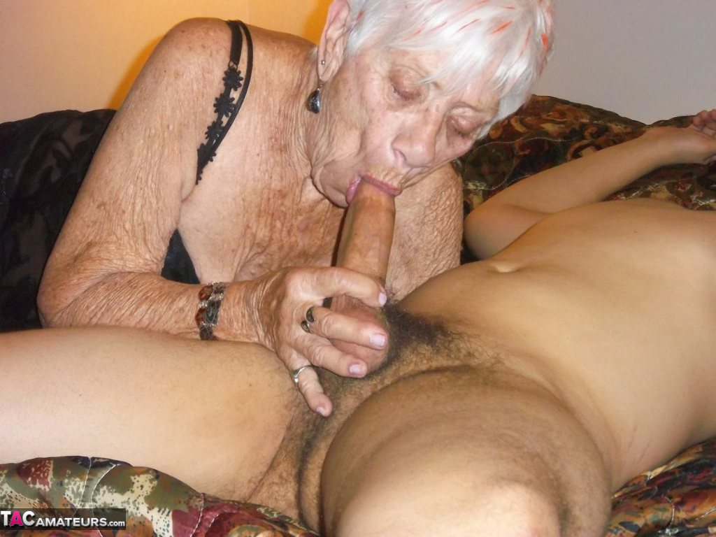 60 yr old grandma takes big black cock in interracial video 6