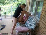 CougarChampion. Fucking on the porch Free Pic