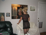 Ruth. Black Fishnet Dress Free Pic 2