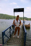 NudeChrissy. Day trip to the lakes Free Pic
