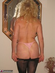Ruth. Black Fishnets With Seams Pt1 Free Pic