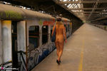 NudeChrissy. The Old Railway Station Free Pic