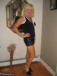Ruth. Black Sequin Skirt Free Pic