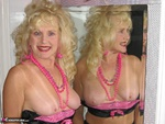 Ruth. Black Sheer & Pink Tease Free Pic 9
