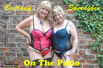SpeedyBee. Speedy & Brit Lady On The Patio Free Pic