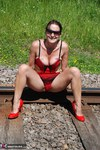 SexySultry. On the railway Free Pic 10