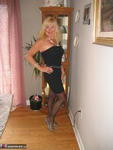 Ruth. Black Strapless Flashing Shoes Free Pic 2
