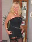 Ruth. Black Strapless Flashing Shoes Free Pic 4