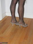 Ruth. Black Strapless Flashing Shoes Free Pic 17