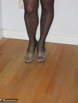 Ruth. Black Strapless Flashing Shoes Free Pic 18