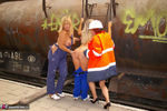 NudeChrissy. The Old Railway Station Pt3 Free Pic