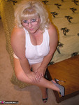 Taffy Spanx. White 'Wifebeater' Free Pic 4