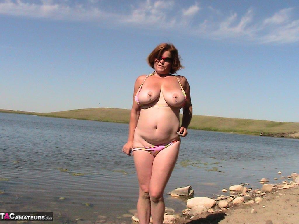 Big tits british milf fucking sucking big black cock 3