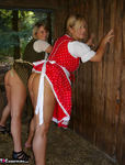 NudeChrissy. Working In The Stable Free Pic