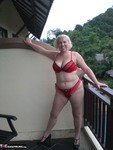 Barby. Barby Balcony Free Pic 2