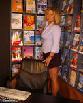 NudeChrissy. Working In The Travel Agents Free Pic 7