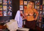 NudeChrissy. Working In The Travel Agents Free Pic 13