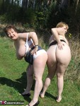 KinkyCarol. With CurvyClaire in the forest Free Pic 17