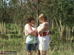 KinkyCarol. With CurvyClaire in the forest 2 Free Pic