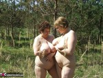 KinkyCarol. With CurvyClaire in the forest 2 Free Pic 20