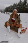 NudeChrissy. Nude In The Snow Free Pic 6