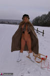 NudeChrissy. Nude In The Snow Free Pic 12