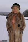 NudeChrissy. Nude In The Snow Free Pic 14