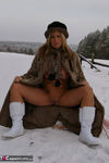 NudeChrissy. Nude In The Snow Free Pic 15