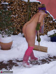 NudeChrissy. Nude In The Snow Pt2 Free Pic 5