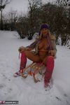 NudeChrissy. Nude In The Snow Pt2 Free Pic