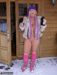 NudeChrissy. Nude In The Snow Pt2 Free Pic 14