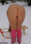 NudeChrissy. Nude In The Snow Pt2 Free Pic 19