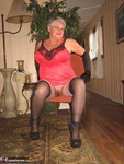 GirdleGoddess. Hot In Red & Black Free Pic 9