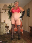 GirdleGoddess. Hot In Red & Black Free Pic 11