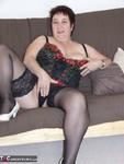 Kinky Carol. White Stilettos Free Pic 12