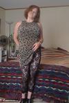 Misha MILF. Floral Print Dress Free Pic 2