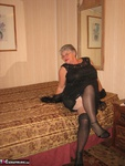 Girdle Goddess. Black Nighty Free Pic 4