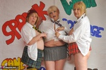 SpeedyBee. Three Naughty Skool Girls Free Pic 5