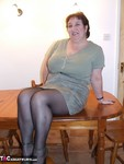 Kinky Carol. Tights On The Table Free Pic 2