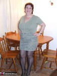 Kinky Carol. Tights On The Table Free Pic 7