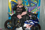 ClaireKnight. Motorbike Shoot Free Pic 5
