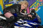 ClaireKnight. Motorbike Shoot Free Pic
