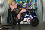 ClaireKnight. Motorbike Shoot Free Pic 20