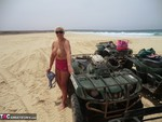 Barby. Quad Bikes Topless In Cape Verde Free Pic